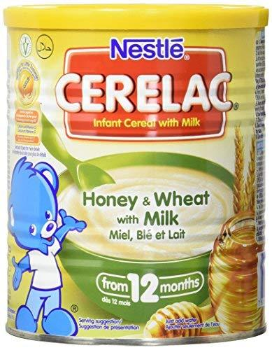 Nestle Cerelac, Honey And Wheat With Milk - 14.11 Ounce Can