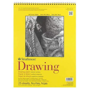 Strathmore Str-340-311 25 Sheet Drawing Pad, 11 By 14""