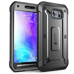 Supcase Galaxy S6 Active Case, Unicorn Beetle Pro Series Full-Body Rugged Holster Case With Built-In Screen Protector For