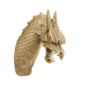 Design Toscano Head Of The Beast Dragon Wall Sculpture