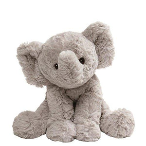 "Gund 4059967 Cozys Collection Elephant Stuffed Animal Plush, 8"", Gray"