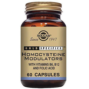 Solgar - Homocysteine Modulators, 60 Vegetable Capsules