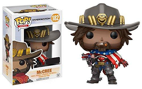 Pop! Games: Overwatch Usa Mccree Exclusive Vinyl Figure