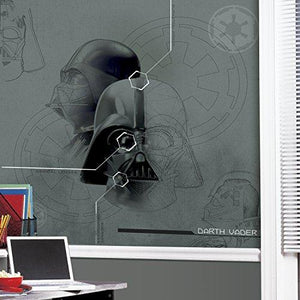 Roommates Jl1403M Ultra-Strippable 6' X 6' Star Wars Darth Vadar Prepasted Mural