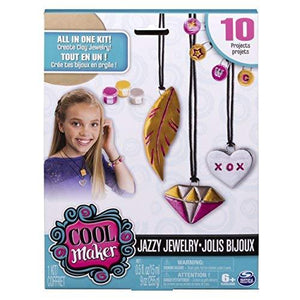 Pottery Cool Girls Clay Jewelry Model Kit