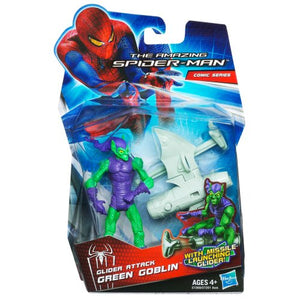 Hasbro Amazing Spiderman Movie 375 Inch Action Figure Glider Attack Green Goblin Mi