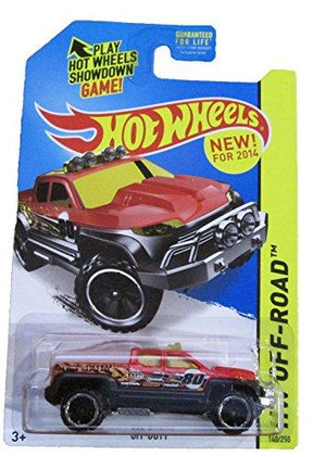 Hot Wheels - 2014 Hw Off-Road 140/250 - Hw Hot Trucks - Off-Duty By Mattel