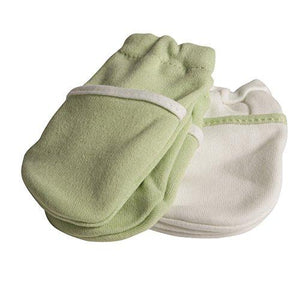 Safety 1St No Scratch Mittens, Green