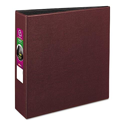 "Avery 27652 Durable Binder With Slant Rings, 11 X 8 1/2, 3"", Burgundy"