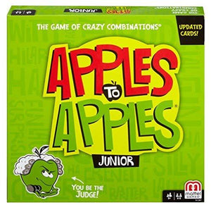 Mattel Apples To Apples Junior The Game Of Crazy Combinations