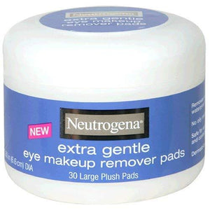 Neutrogena Eye Makeup Remover Large Plush Pads - Extra Gentle