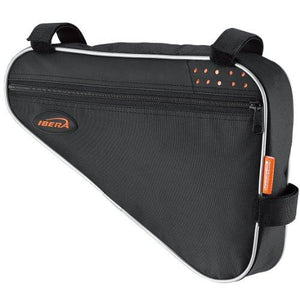Ibera Ib-Fb1-M Bicycle Triangle Frame Bag Strap-On Bike Top Tube Pouch