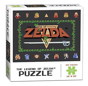 USAopoly Legend of Zelda Classic Puzzle (550 Piece)