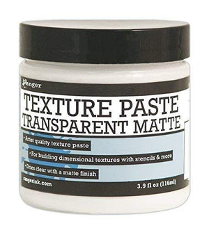 Ranger Texture Paste Transparent Matte, 4 Oz