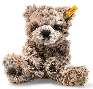 Steiff Soft Cuddly Friends, Mottled Brown Terry Teddy Bear, 8""