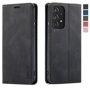 Samsung Galaxy A52 5G Case,Samsung Galaxy A52 5G Wallet Case with Card Holder [RFID Blocking] Kickstand Magnetic,Leather Flip Case for Samsung Galaxy A52 5G 6.5 Inch (Black)