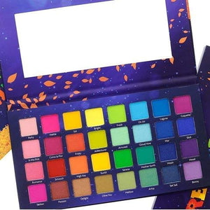 Amor Us Remember Me Pressed Pigment Palette Eyeshadow Palette con 32 Pigmentos BRIGHTS
