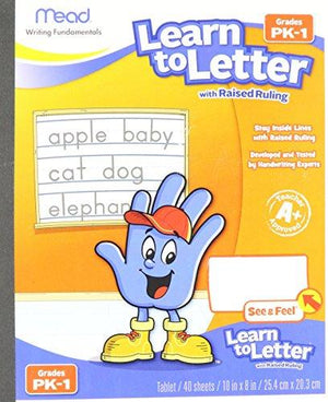 Mead 48122 Learn To Letter Writing Book Education Printed Book