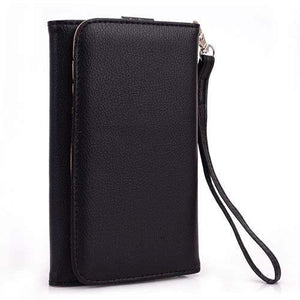 Kroo Clutch Wallet For Smartphones Up To 6-Inch - Black