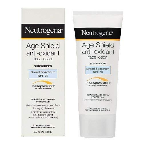 Neutrogena Age Shield Face Sunblock Spf 70 - 3 Fl Oz
