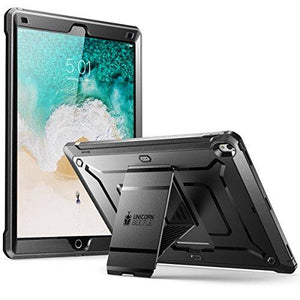 Supcase Ipad Pro 12.9 2017 Case, [Heavy Duty] [With Built-In Screen Protector] Unicorn Beetle Pro Series Full-Body Rugged