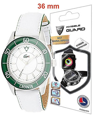 IPG Universal Round Watch Screen Protector (2 Units) Bubble Free Anti-Scratch Invisible Protection Good for Smart Watch Too Size Options are Available (36MM Diameter)