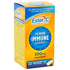 Ester-C 500 Mg Coated Tablets 90 Ea (Pack Of 2)