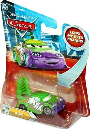 Disney / Pixar Cars Movie 1:55 Die Cast Car With Lenticular Eyes Wingo