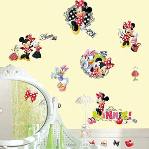 RoomMates Minnie Loves To Shop Peel and Stick Wall Decals