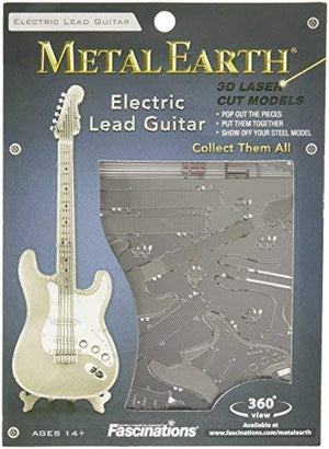 Fascinations Metal Earth Electric Lead Guitar 3D Metal Model Kit