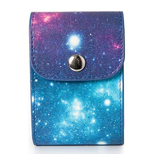 Fujifilm Instax Mini Photo Case - Caiul Galaxy Starry Sky Pu Leather Case Bag