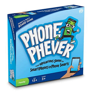 Phone Phever Board Game - Best New Fun Fast-Paced Family-Friendly Party Board Game - It'S A Phonetastic Race To Answer Fascinating Trivia Questions & Complete Hilarious Challenges!