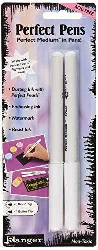 Ranger Perfect Pens Set, 2-Pack, Clear