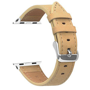 Fintie Band For Apple Watch 40Mm 38Mm, Genuine Leather Replacement Wrist Strap Compatible With Apple Watch Series 4 Series