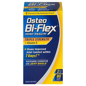 Osteo Bi-Flex Triple Strength + Vitamin D  Coated Tablets 80 Ea