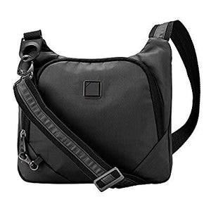 Lewis N. Clark Secura Anti-theft Cross Body Bag, Onyx