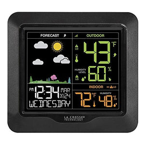 La Crosse S85814 Wireless Forecast Station With Barometric Pressure