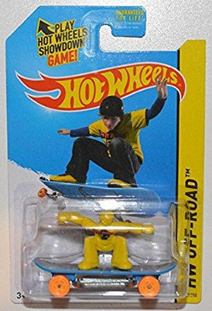 Hot Wheels Hw Off-Road 123/250 - Skate Punk (The Yellow Variation)