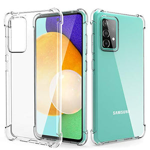 Arae Case for Samsung Galaxy A52 5G 4G, Premium Soft and Flexible TPU [Scratch-Resistant] Phone Case for Samsung Galaxy A52, Crystal Clear
