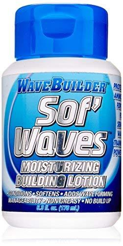 WaveBuilder Sof Waves Moisturizing Building Lotion, 7 Ounce