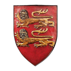 Design Toscano Grand Arms Of France Wall Shield Collection- William Of Normandy Shield