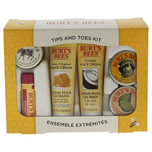 Burt'S Bees Tips & Toes 6 Piece Kit For Women