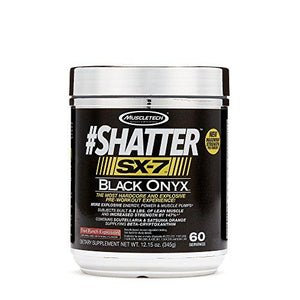 Muscletech Shatter Sx-7 Black Onyx, Fruit Punch Explosion, 60 Servings