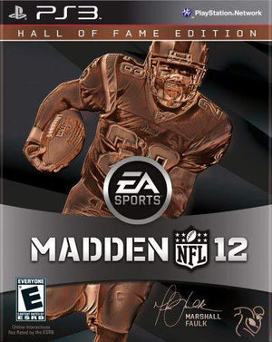 Electronic Arts Madden Nfl 12 Hall Of Fame Edition - Playstation 3