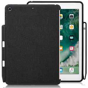 Khomo - Ipad 9.7 Inch Case (2017 & 2018) With Pencil Holder - Companion Cover - Perfect Match For Apple Smart Keyboard And