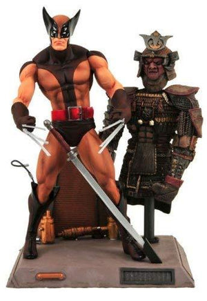 Diamond Select Toys Marvel Select: Action Figure Wolverine'S With Samurai