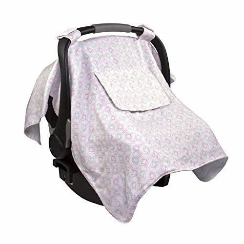Summer Infant Muslin Little Looks Car Seat Cover, Medallion Days