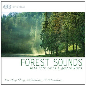 Forest Sounds With Soft Rains  Gentle Winds (Nature Sounds Deep Sleep Music Meditation Relaxation Sounds Of Nature)