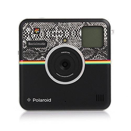 Polaroid Custom Designed Front Sticker For Polaroid Socialmatic - Snake Skin