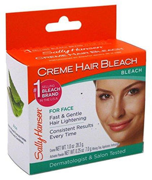 Sally Hansen Creme Hair Bleach For Face (6 Pack)